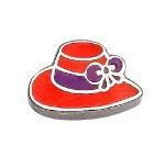 Red Hat - Enamel Charm